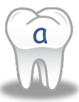 Dental Health Tooth Word sort - middle short vowel sound