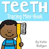 Dental Health Tracing Book