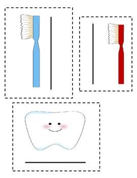 Dental Health Cube Measuring