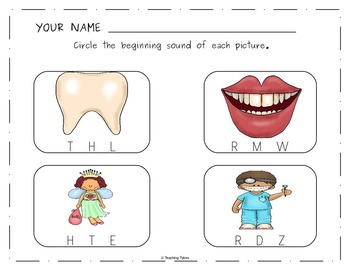Dental Health Worksheets Activities Games Printables and More