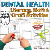 Dental Health Activities {Plus Craftivity}