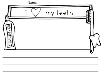 Dental Health Unit for Lower Elementary {Math & Literacy}