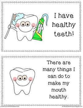 Dental Health Unit w/ Social Story