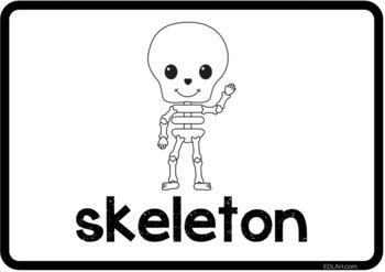 Dental Health Vocabulary Word Wall Cards - BUNDLE