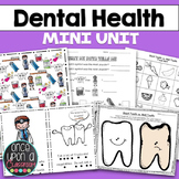 Dental Health - What is a Dentist? {Emergent Readers, Grap