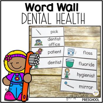Dental Health Word Wall {Dollar Deal}