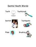 Dental Health Words