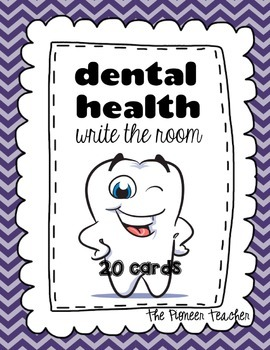 Dental Health Write Around The Room