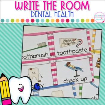 Dental Health- Write The Room