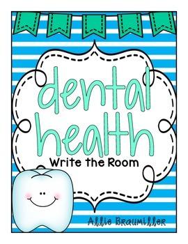 Dental Health: Write the Room