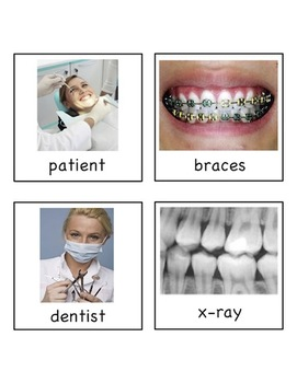 Dental Health - Write the Room Activity