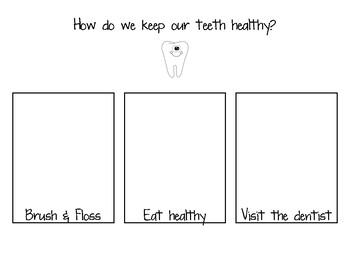 Dental Health Writing