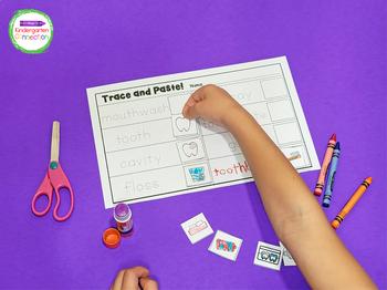 Dental Health Writing Center Activities