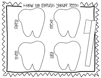 Dental Health Writing Pages