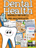 Dental Health {a complete unit for preschool, prek, kindergarten}