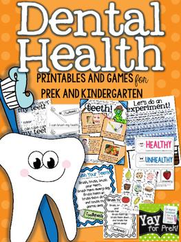 Dental Health {a complete unit for preschool, prek, kindergarten}