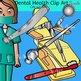 Dental Health clip art -Color and B&W- 66 items!