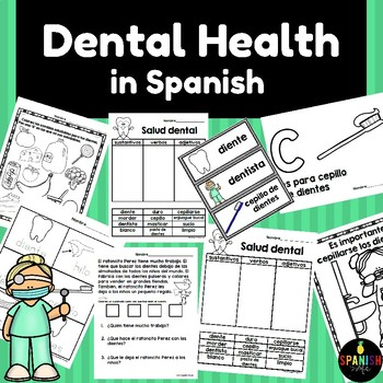 Dental Health in Spanish (Salud dental bucal)