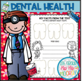 Dental Health...Literacy Activities, Informational Text, Craft!