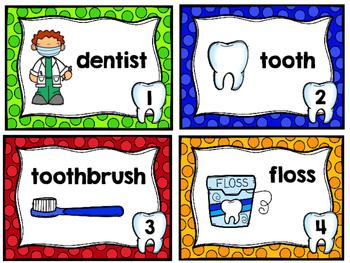 Dental Health - Write the Room