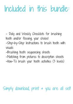 Dental Hygiene Bundle (How-To Brush Teeth)