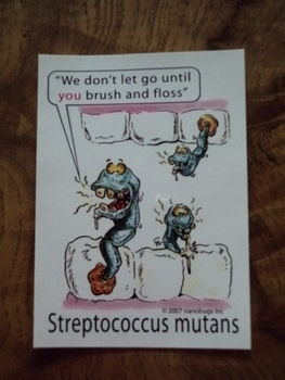 Dental Hygiene - Strep mutans as compliance tutor