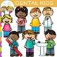 Kids Dental Clip Art