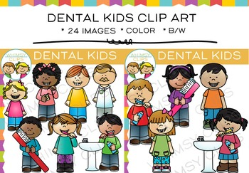 Kids Dental Clip Art
