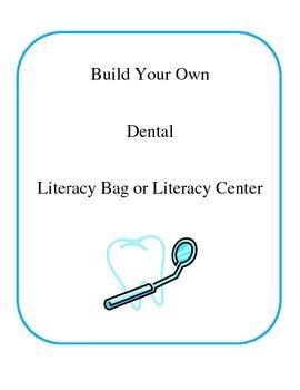 Dental Literacy Bag- Center Activities