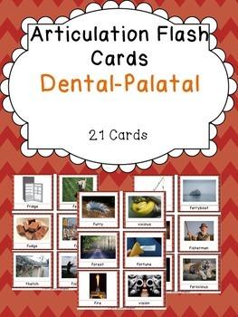 Apraxia & Articulation Cards Dental-Palatal