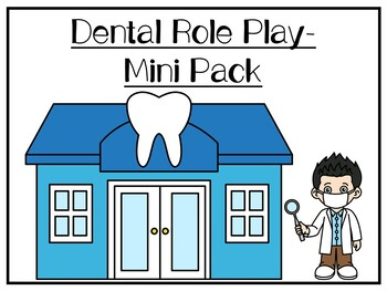Dental Role Play Pack