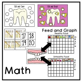 Dental Thematic Unit for PreK, Kindergarten, and Homeschool