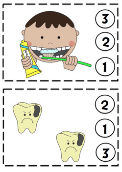 Dental Toddler Printable
