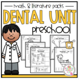 Dental Unit Math and Literature Preschool