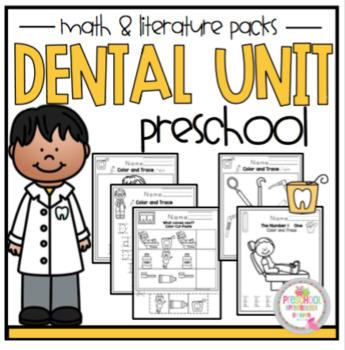 Dental Unit Math and Literature Preschool