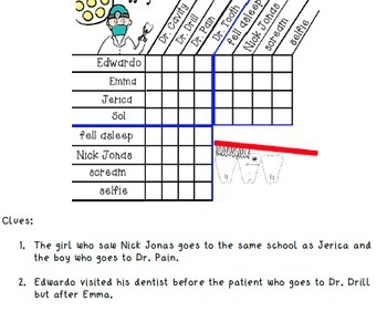 Logic Puzzle : Dental Visits for Gifted and Talented or Bright Students