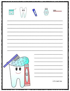 Writing Paper Dental Hygiene