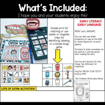 Dentist Early Reader Pre-K Speech Therapy