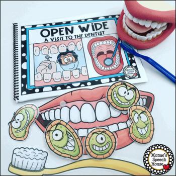 Dental Health Early Reader Pre-K Literacy Circle Dentist