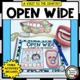 Dental Health Early Reader Pre-K Literacy Circle Dentist Speech Therapy