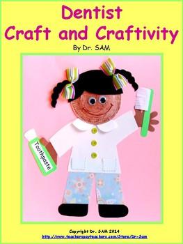 Dentist Craft and Craftivity