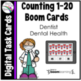 Dentist - Dental Health Counting 1-20 Boom Cards