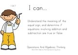 Dentist Kids Theme 1st grade math Common Core Posters first Grade Standards