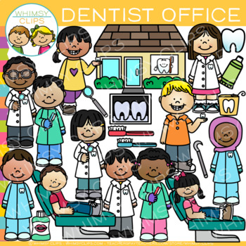 Dentist Office Clip Art { Kids Dentist Clip Art }