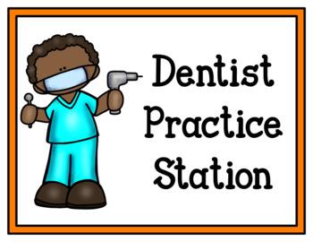 Dentist Office (Dramatic Play)