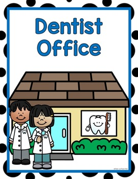 Dentist Dramatic Play Center Kit | KinderLand ... |Preschool Dramatic Play Dentist