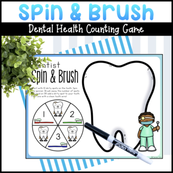 Dentist Spin and Brush Math Game
