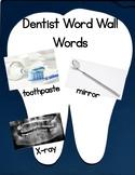 Dentist Word Wall Words
