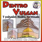 Dentro de Vulcan - Conjento de modelo de papel 3D (Espanol)