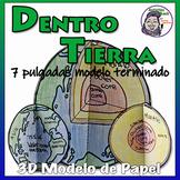 Dentro de la tierra - Conjento de modelo de papel 3D (Espanol)